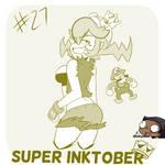 Super Inktober - Warioette!!!!