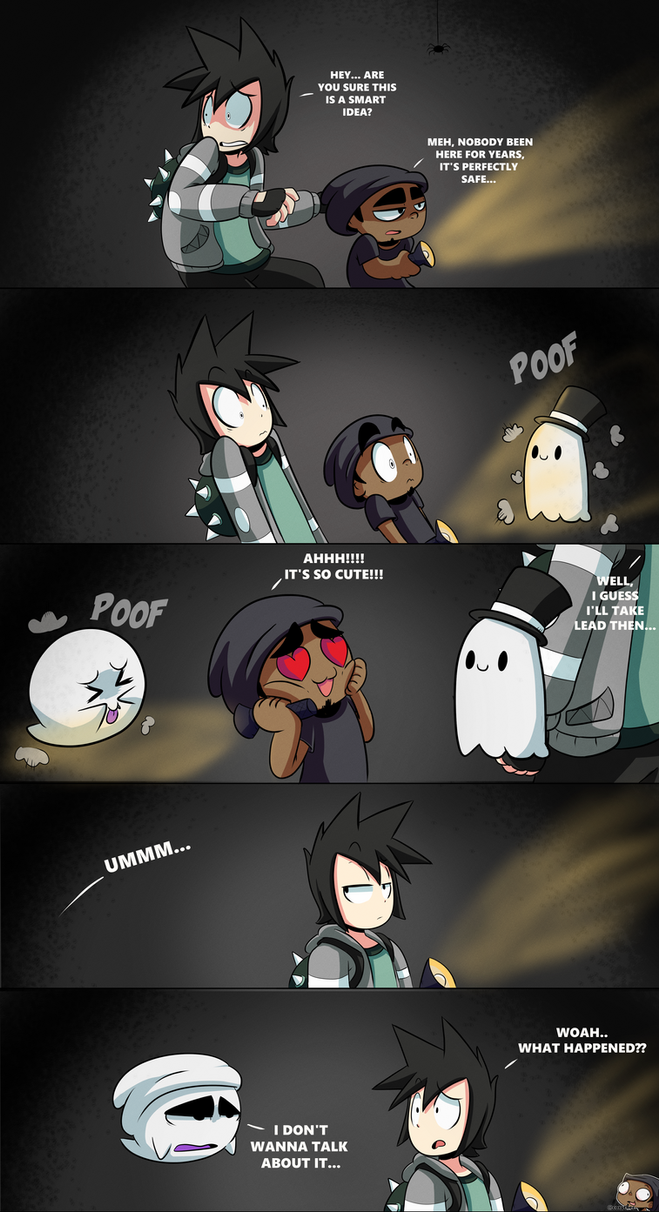 Spooky ghosts....(HAPPY HALLOWEEN!!) by CorytheC