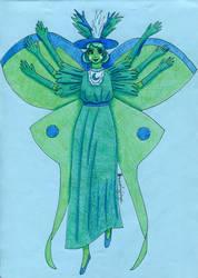 Eclipsa's Butterfly Form by Drzewobojczyni