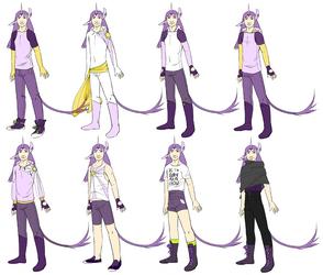 Shale outfit concepts