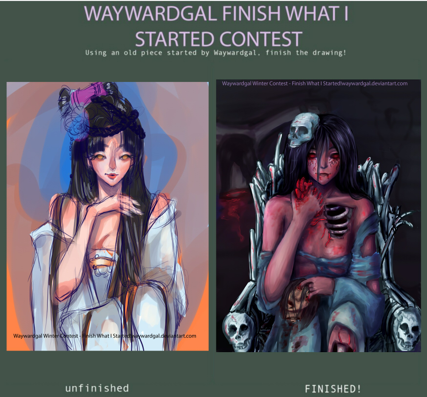 Finish what I started by NyxAchlys