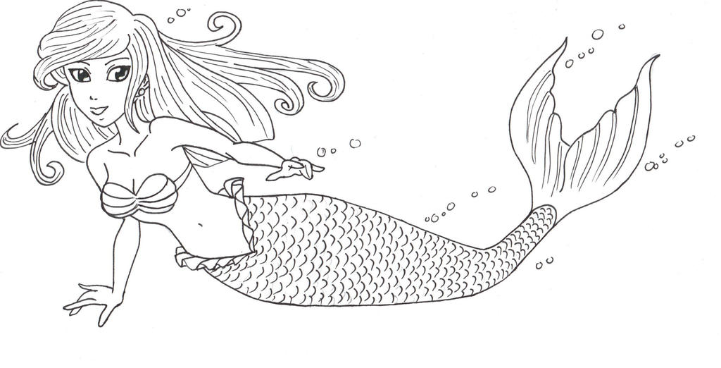 Mermaid by AriellValkyria