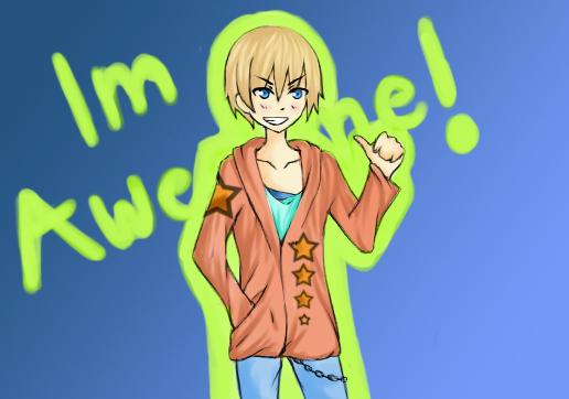 Im awesome by RavenMomoka