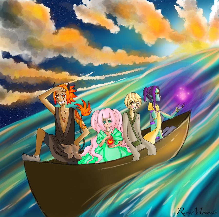 On to the next adventure ! by RavenMomoka