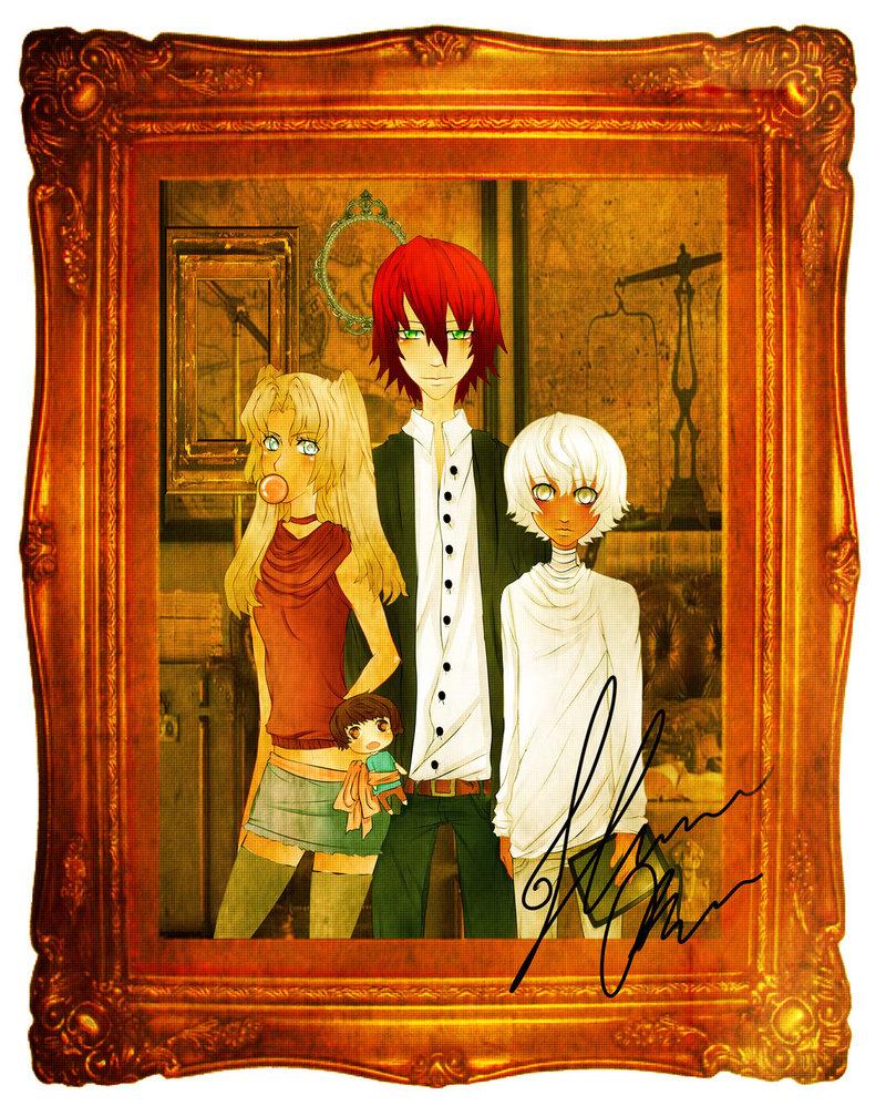 Family Portrait by RavenMomoka