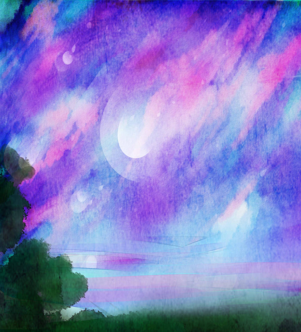 Underneath a Starry Sky by RavenMomoka