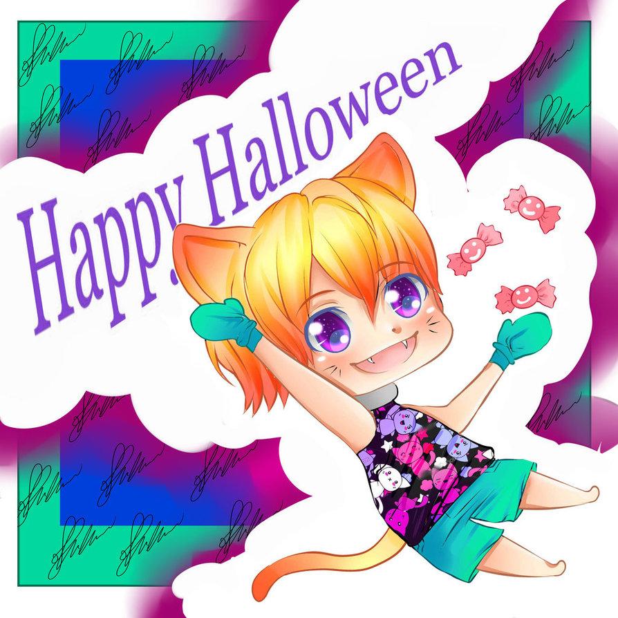 Happy Halloween by RavenMomoka