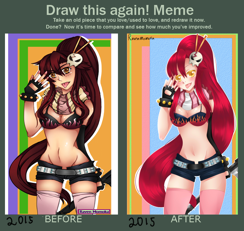 improvement meme by RavenMomoka