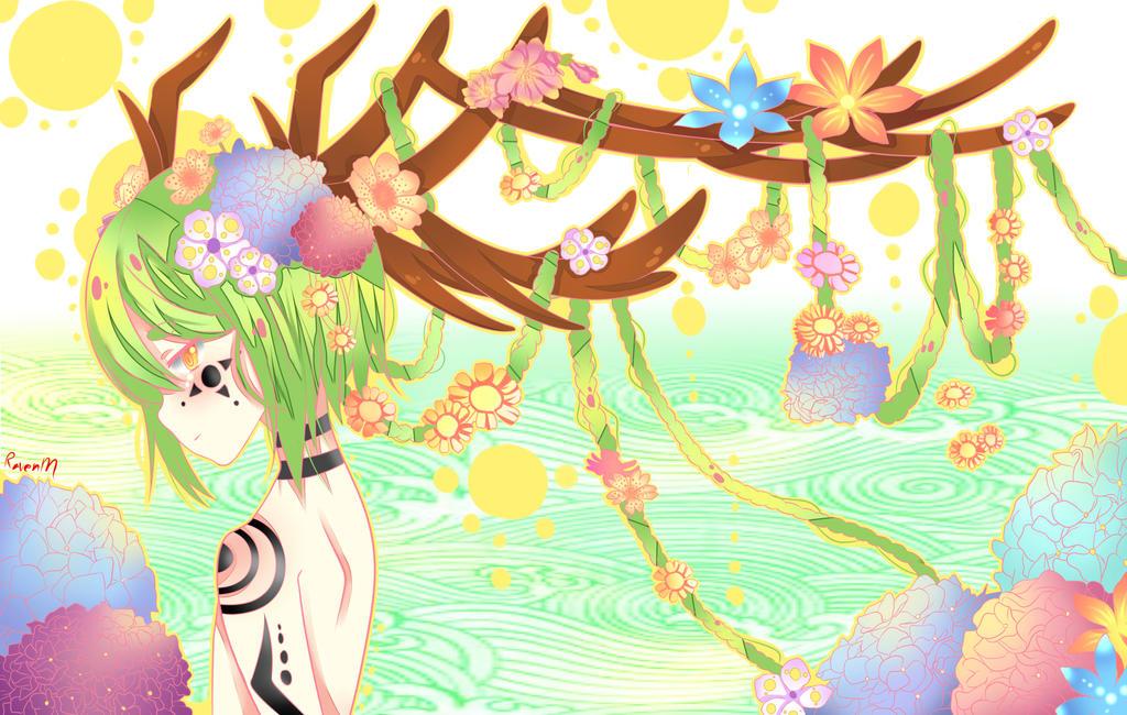 spring of life by RavenMomoka