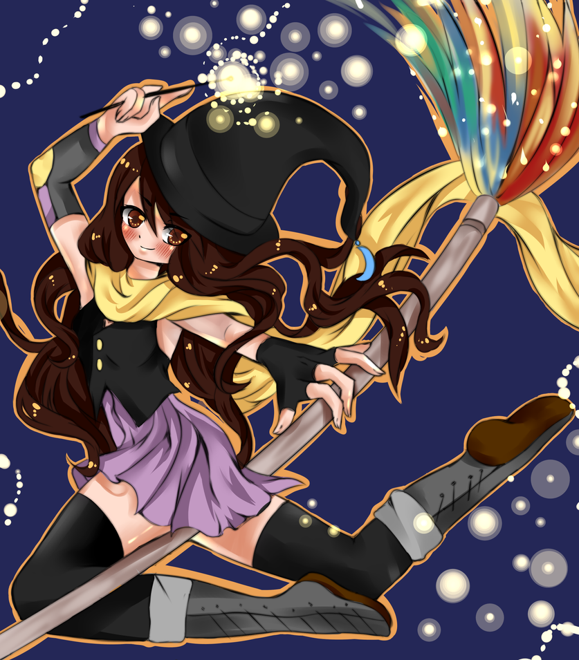 Witch persona by RavenMomoka