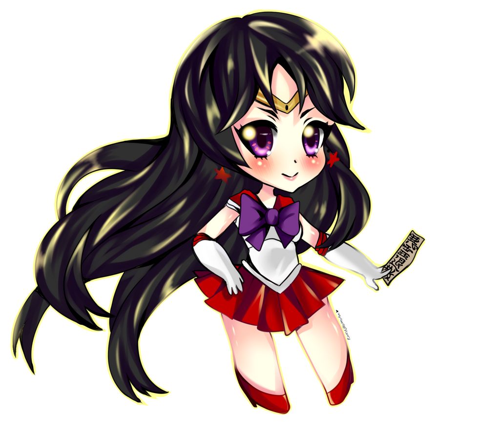 Sailor Mars by RavenMomoka