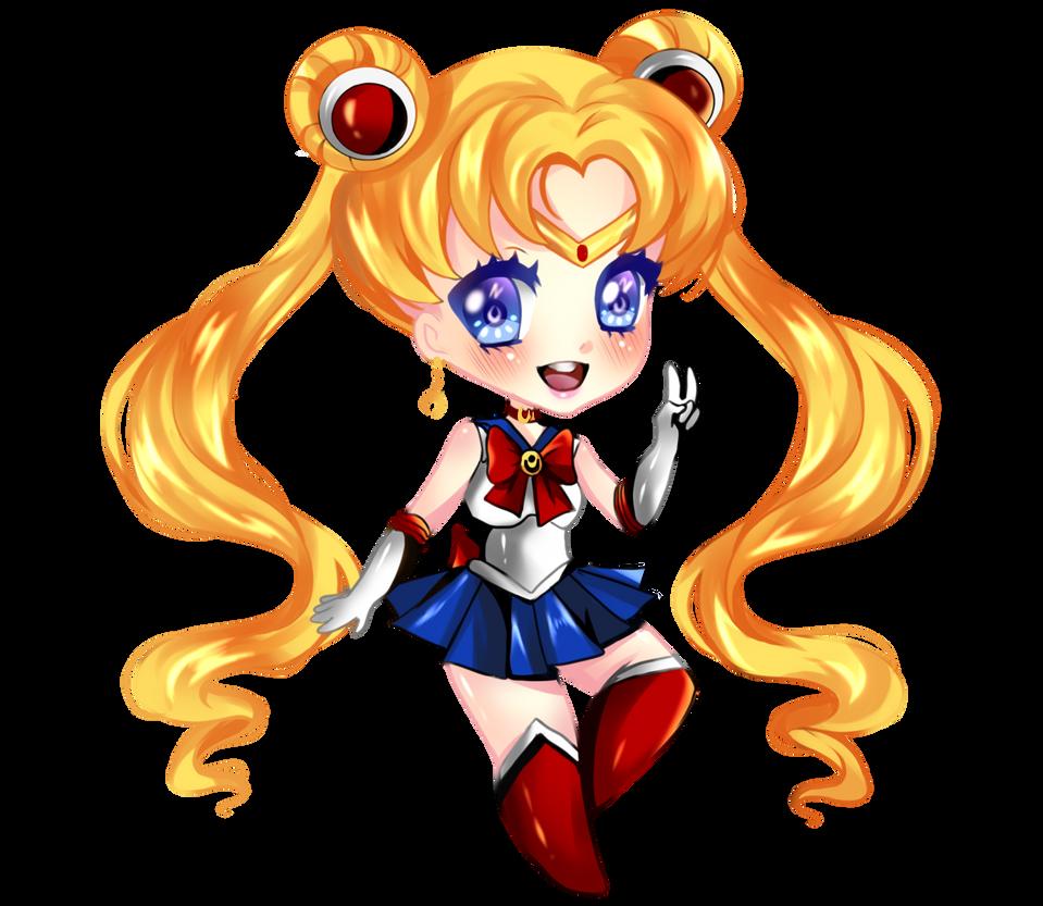 Sailor Moon by RavenMomoka