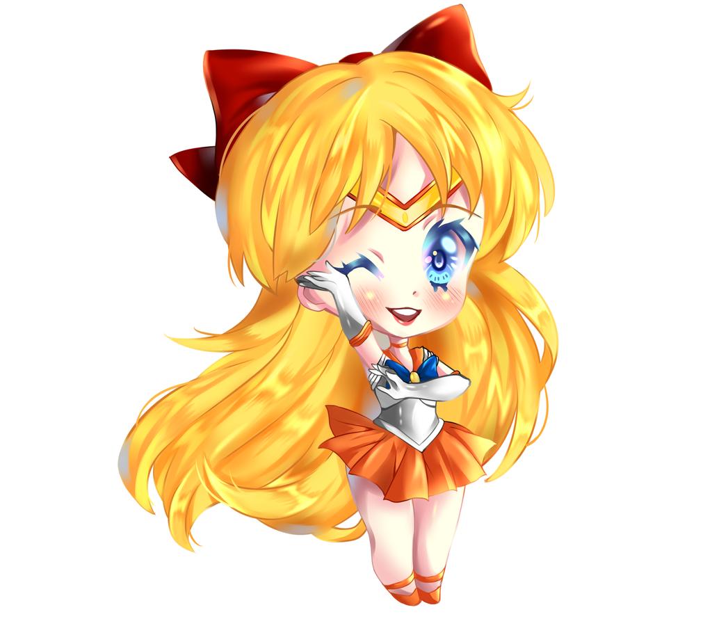Sailor Venus by RavenMomoka
