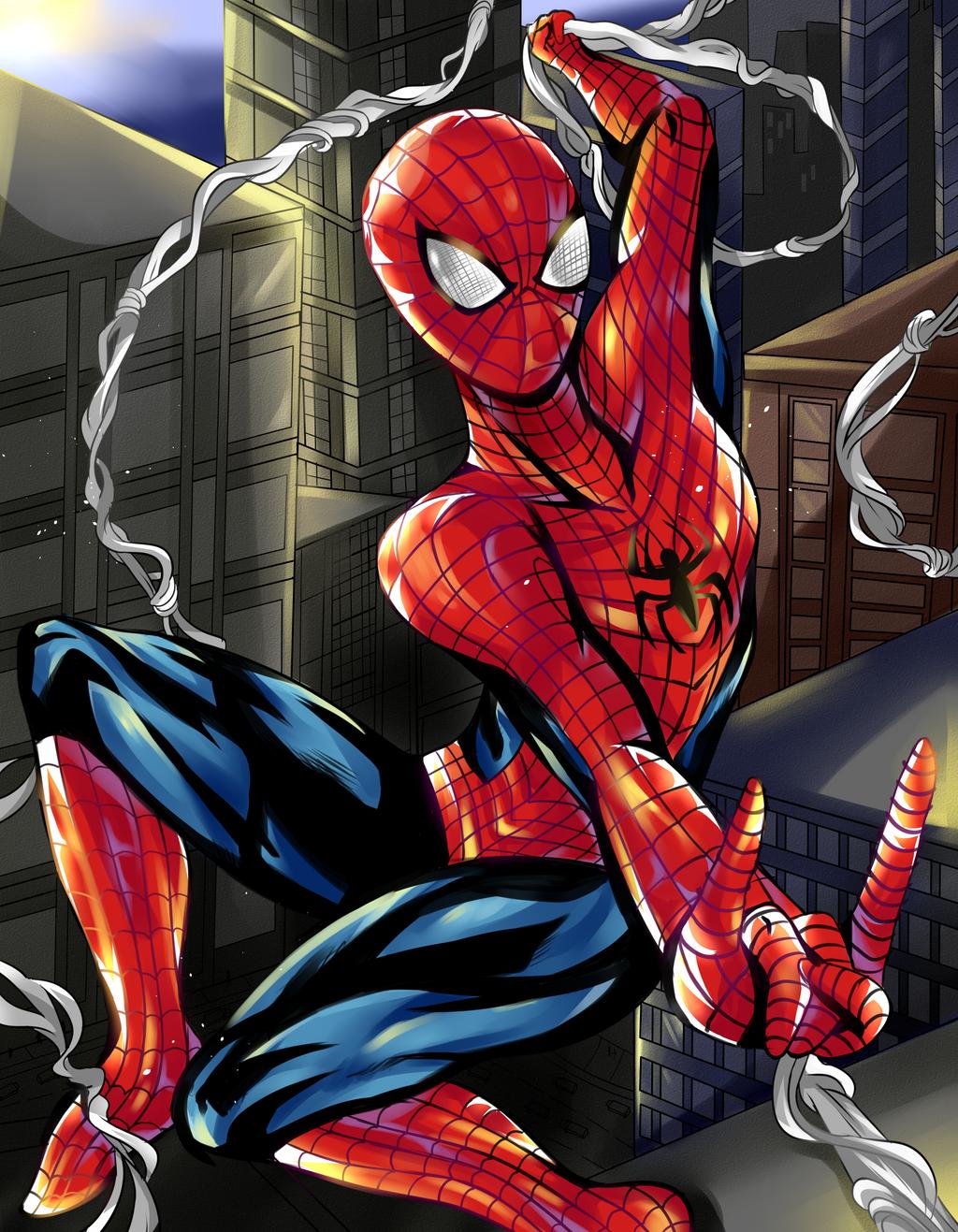 Spider-Man by RavenMomoka