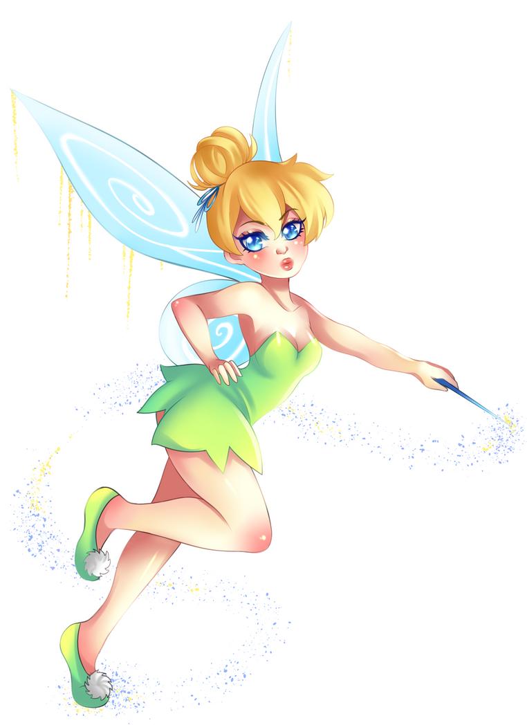 Tinker Bell by RavenMomoka