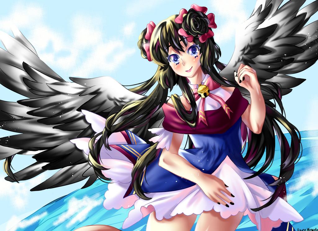 Raven momoka by RavenMomoka