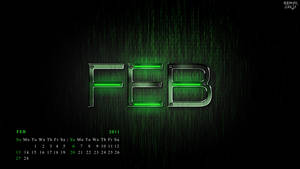 my feb calendar..........2011