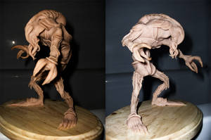 First Attempt At Sculpture by mecha-cthulhu