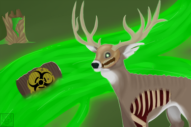 Apocalypse Deer by SparkkleMutt