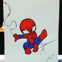Chibi Spiderman by NatyTsuki