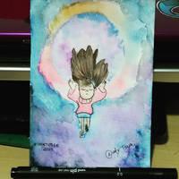 Mabel Watercolor by NatyTsuki