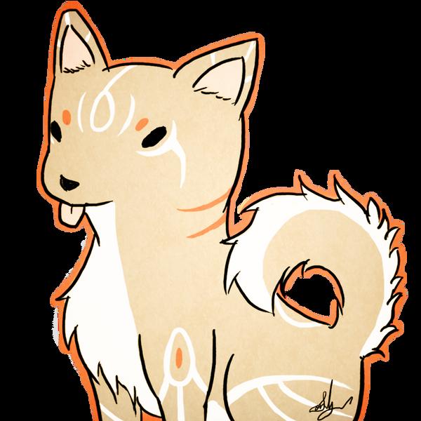 Chibi Dog by SonariNyan