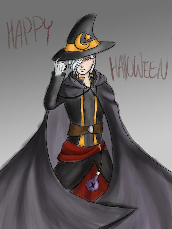 Halloween - Wizard by SonariNyan