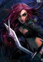 Katarina - League of Legends [ Fanart ]