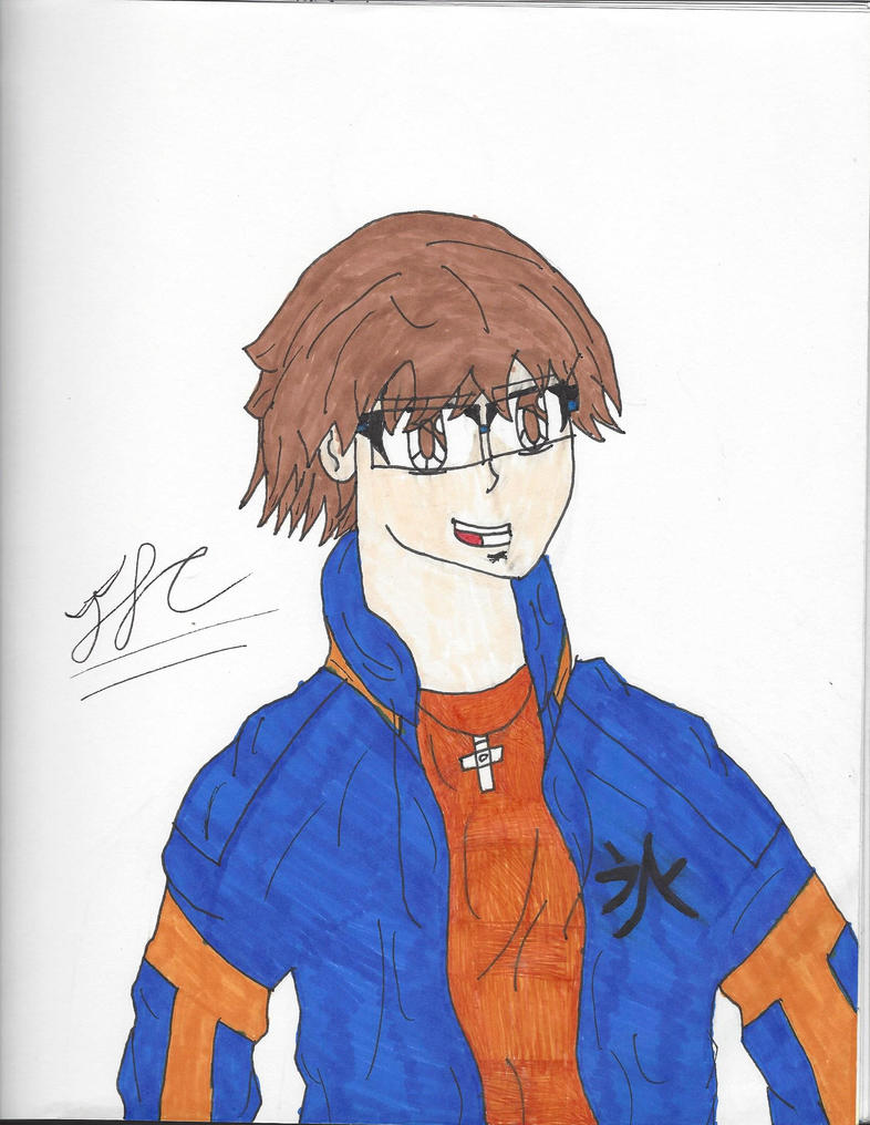 Me in Anime Prototype 1 (Signed) by ElementIceHero