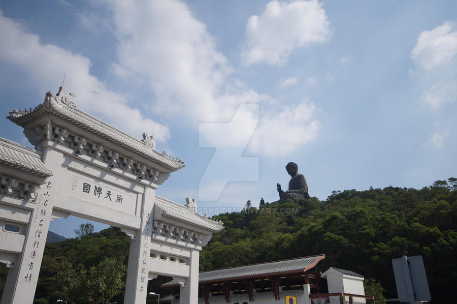 The Big Buddha by powerssk8