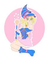 Dark Magician Girl ~ Cartoon Style by SKTachi