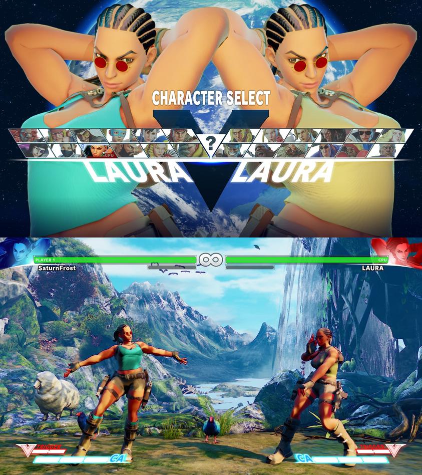'Laura' Croft Mod Wip Update by Dusdeus