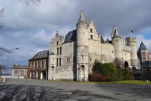 Castle 't Steen by FrankAndCarySTOCK