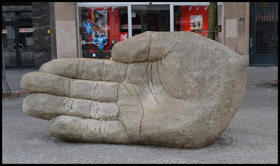 Stone Hand by FrankAndCarySTOCK