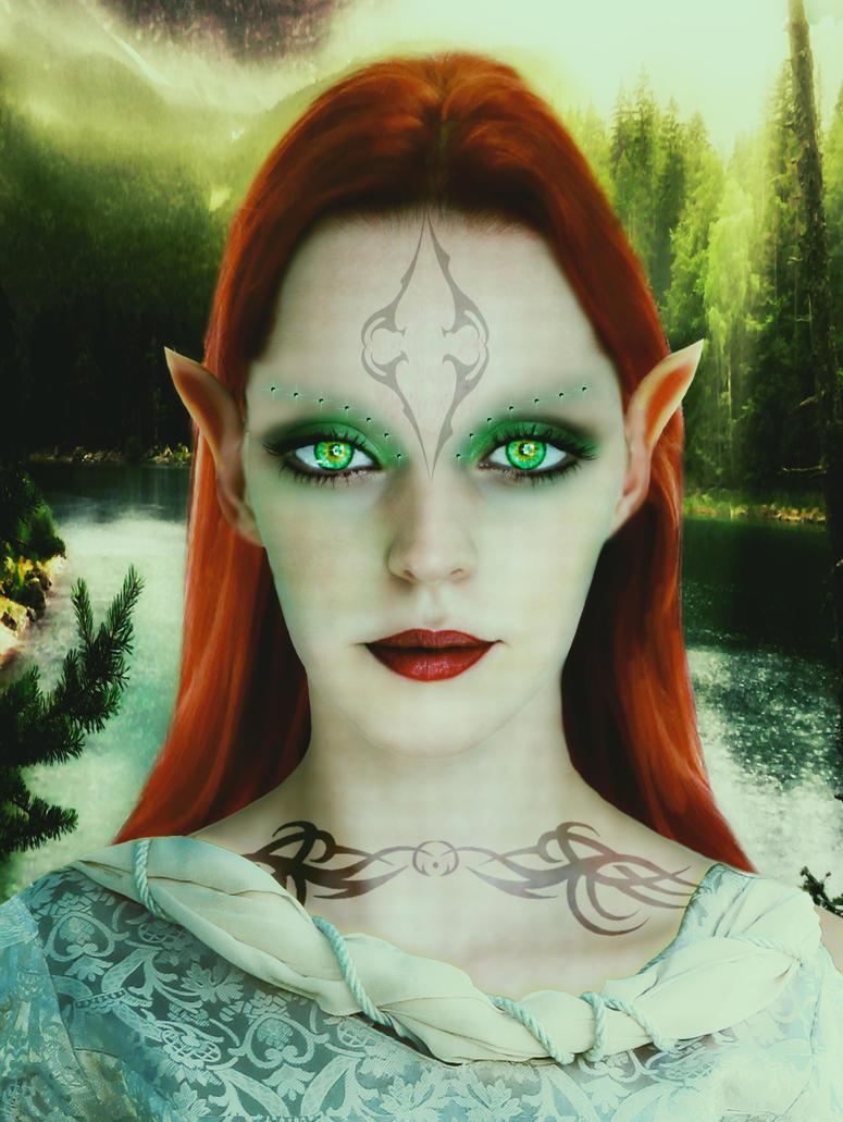 Elven Queen by FrankAndCarySTOCK