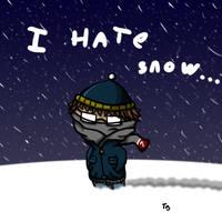 Snow by Asmodeus01