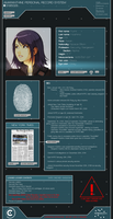 Sci-fi character sheet