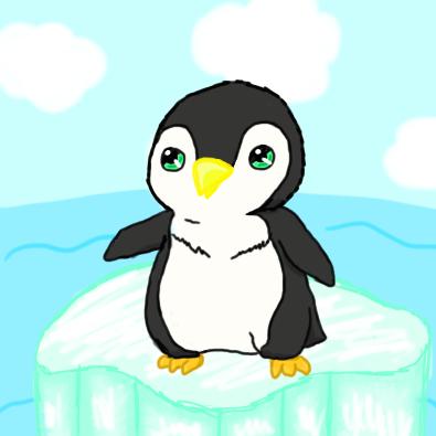 Cute Penguin by Senackichan