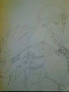 Zelda twilight princess. by Senackichan