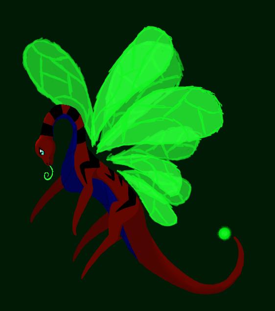 Dragon for a person by Senackichan