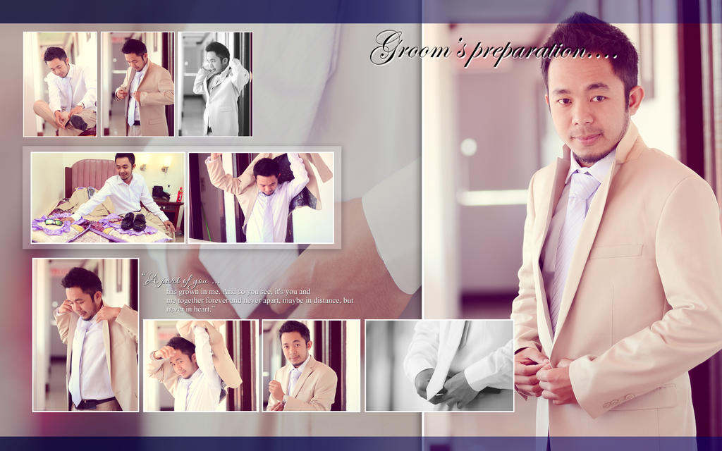 wedding album layout magnetique sample by jonacabo on