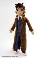 Tenth Doctor by leftandrightdolls