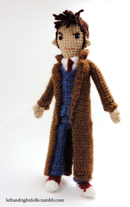 Tenth Doctor by leftandrightdolls