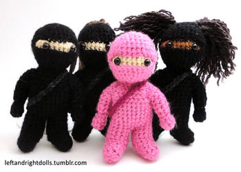 Original: Ninjas by leftandrightdolls