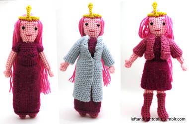 Adventure Time: Princess Bubblegum by leftandrightdolls