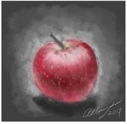 Alsaamir Fruit Painting photoshop by Baddahbing