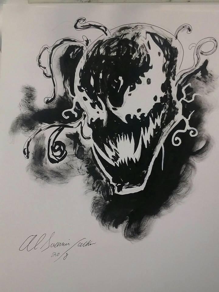 Marvel carnage inks by Baddahbing