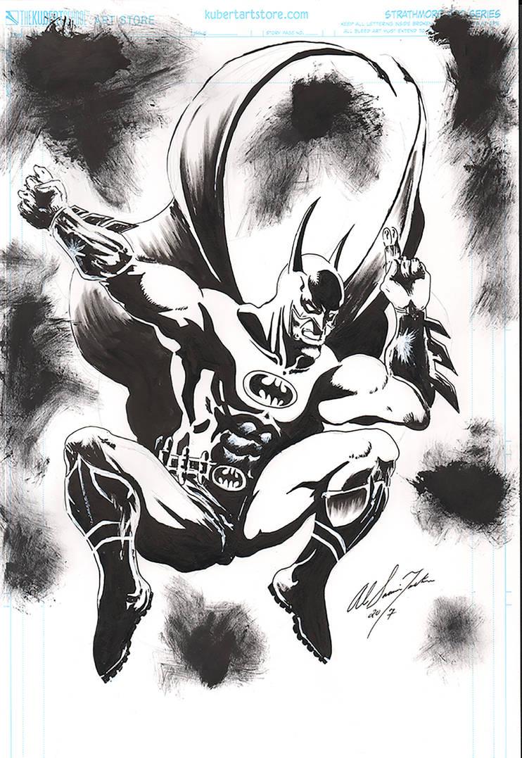 batman inks by Baddahbing
