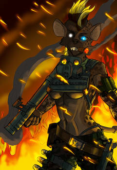 Hellfire hyena 2