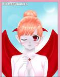 ADOPTABLE - pastel demon girl (closed)